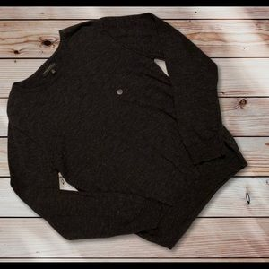 Aeropostale charcoal  pullover sweater size L